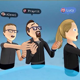 VR Streaming and Broadcasting - Facebook VR Avatars
